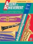 Accent on Achievement, Bari Sax Bk. 3
