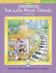 Music For Little Mozarts Coloring Book 4: Fun with Music Friends in the City