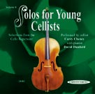 Solos for Young Cellists CD, Volume 6 [Cello]