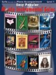 Easy Popular Movie Instrumental Solos (Book/CD) - Cello