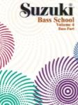 Suzuki Bass School, Volume 4 - Book Only