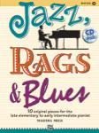 Jazz, Rags and Blues, Book 1 Late Elementary to Early Intermediate