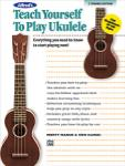 Alfred's Teach Yourself to Play Ukulele - Book/CD