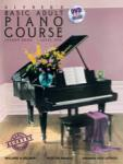 Alfred's Basic Adult Piano Course: Lesson, Book 1 (Bk/DVD)