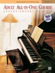 Alfred's Basic Adult All-in-One Piano Course, Book 1 (Bk/DVD)