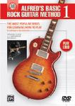 Alfred's Basic Rock Guitar Method 1 DVD