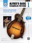 Alfred's Basic Mandolin Method 1 (Revised) Book w/DVD [Mandolin]