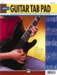 """Guitar TAB Pad (8.5"""" x 11"""") [Guitar] -"""