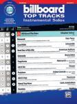 Billboard Top Tracks Instrumental Solos w/cd [Trombone]