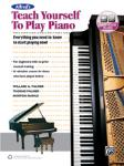 Alfred's Teach Yourself to Play Piano w/online audio [Keyboard/Piano]