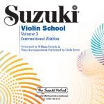 Suzuki Violin School CD 3 International