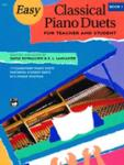 Easy Classical Piano Duets for Teacher and Student Book 1 Easy