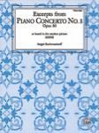 Excerpts From Piano Concerto No. 3  Piano Solo