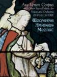 Ave Verum Corpus and Other Sacred Music - Full Score