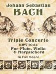 Triple Concerto in A minor, BWV 1044 - Full Score