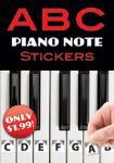ABC Piano Note Stickers [Piano]