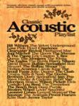 Classic Acoustic Playlist [PVG]