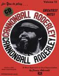 Cannonball Adderley VOL 13 BK/CD
