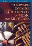 Harvard Concise Dictionary of Music & Musicians