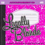 Legally Blonde, Songs of
