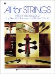 ALL FOR STRINGS - BK 2 - CELLO - THEORY WB