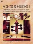 SOLOS AND ETUDES, BK1/VIOLIN