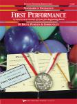 Standard of Excellence First Performance - Bassoon / Trombone / Baritone B.C.