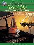 FESTIVAL SOLOS, BOOK 3 - PERCUSSION
