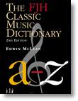 FJH Classic Music Dictionary