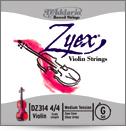 ZYEX GLDZ100 VIOLIN STRING SET - 4/4