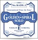 GOLDEN SPIRAL K420B3 1ST - 4/4 VIOLIN E STRING