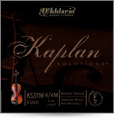 KAPLAN KS311WF Violin E String 4/4 - Aluminum Wound - Kaplan
