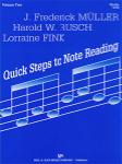 Quick Steps to Note Reading Volume 2