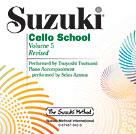 Suzuki Cello School 5 - Cd Revised