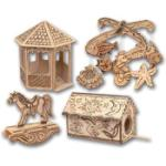 Natural Science NSI07797 WOOD BURNING KIT DELUXE DELUXE 3D KIT