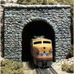 N Single Tunnel Portal, Random Stone (2)