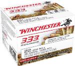 Winchester 22LR333HP USA  22 LR 36 gr Copper Plated Hollow Point (CPHP) 333