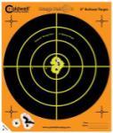 "Battenfeld Tech Caldwell 120-556 Orange Peel Targets Bullseye 12"" 5 Pack"