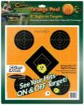 "Battenfeld Tech Caldwell 244-561 Orange Peel Targets Sight-In 12"" 5 Pack"