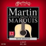 12 STRING SET MARTIN,LIGHT MARQUIS