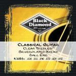 Black Diamond N68B BK DIAMND STRNG SLVRPLTD BL END