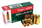 Sellier & Bellot SB9A S&B 9mm Luger 115 Grain FMJ