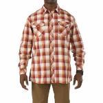 511 5.11 Tactical Men's Covert Flannel Shirt (Blue)