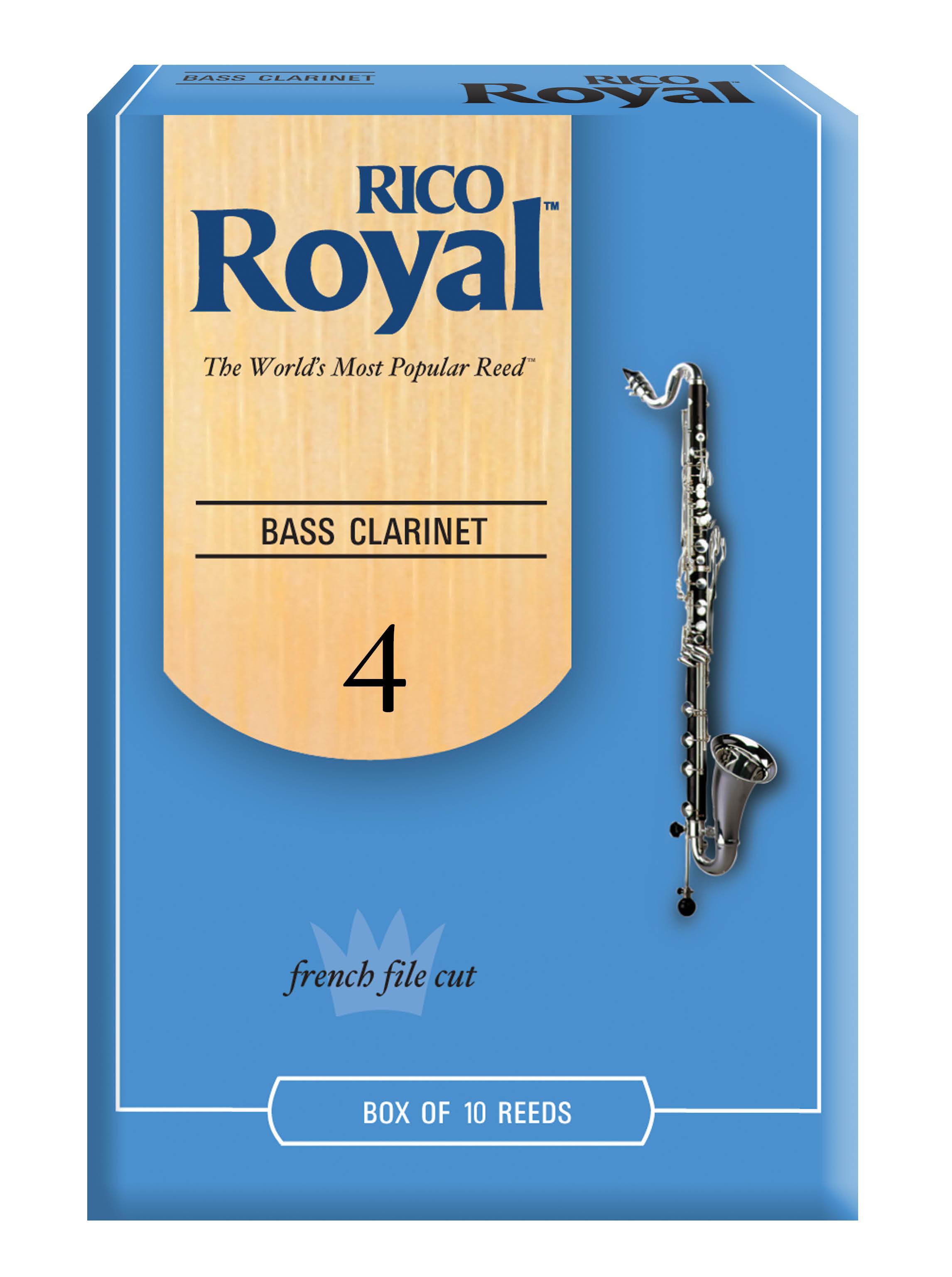 Reed--bass Clar  Rico Royal