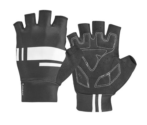 Giant G10069 GNT Podium Gel Short Finger Gloves XL Black/White