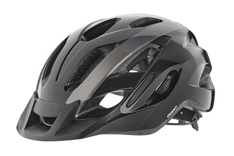 Giant G51759 GNT Compel Helmet M/L Black/Metallic