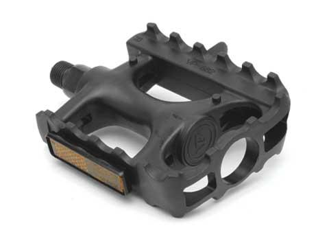 "Giant G67005 GNT Nylon MTB Pedals 9/16"" Axle Black"