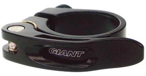Giant QRSCLAMP GNT QR Seatpost Clamp 34.9mm Black