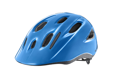 Giant G800002217 GNT Hoot Youth Helmet OSFM ARX Gloss Blue (w/ Bug Net)