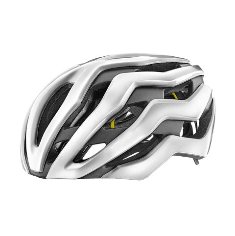 Giant G800002291 GNT Rev Pro MIPS Helmet MD Gloss Metallic White